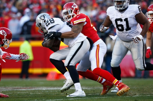 Derrick Johnson still says goal is to be ready for Chiefs training camp