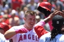 Alex Meyer was on fire, Mike Trout brought the clout and the Angels beat the Tigers 4-1 on Mother's Day