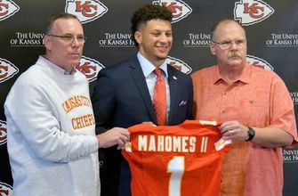 Chiefs' first-round pick Patrick Mahomes reportedly robbed at gunpoint