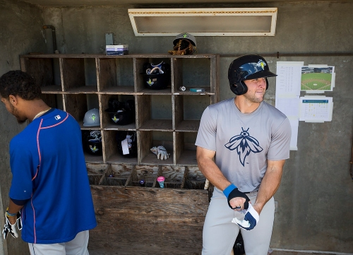 WATCH: Mets minor leaguers imitate Tim Tebow