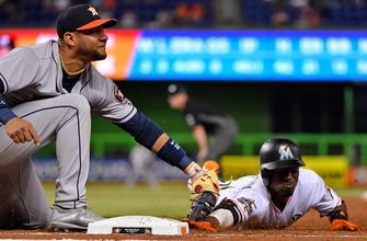 Dan Straily exits early, Marlins can't keep up with Astros