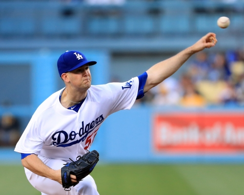 Dodgers Notes: Alex Wood finds a little change can go a long way