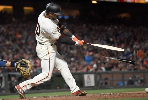 Good fortune produces good baseball for Giants in win over Dodgers