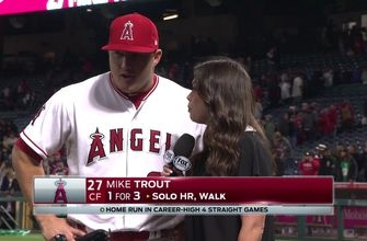 Mike Trout, Angels takes series opener vs. White Sox