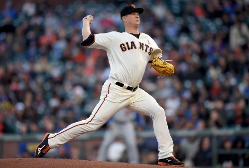 Is Matt Cain starting to resemble the workhorse he once was?