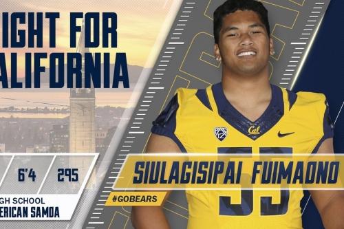 Cal adds Siulagisipai Fuimaono to 2017 recruiting class