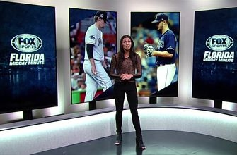 Florida Midday Minute: Marlins, Rays looking to rebound