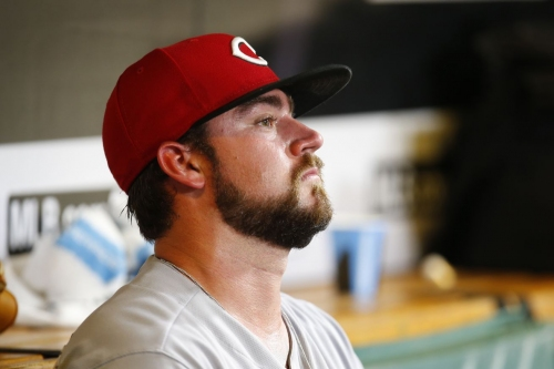 Cincinnati Reds move Brandon Finnegan to 60 day DL, claim 1B Peter O'Brien