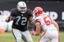 Donald Penn gets his turn for another impressive stat for Raiders offensive line