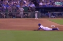 WATCH: Moustakas, Escobar flash the leather