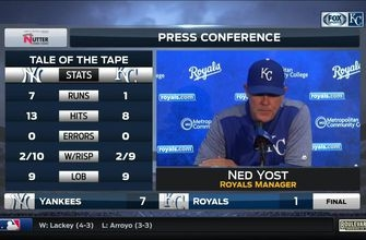 Yost: 'Not much to show for' solid offensive night