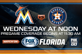 Preview: Marlins try to salvage win vs. Astros in final game of homestand