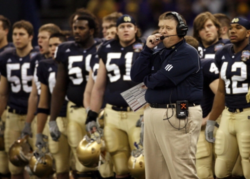 Charlie Weis finishes banking almost $19 million in Notre Dame buyout checks