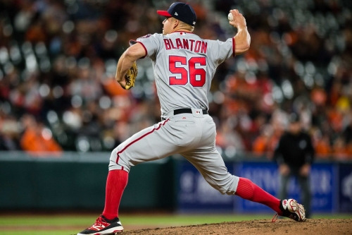 Washington Nationals place Joe Blanton on 10-Day DL with right shoulder inflammation