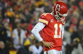 Alex Smith thinks the Chiefs are only committed to him 'through this year'