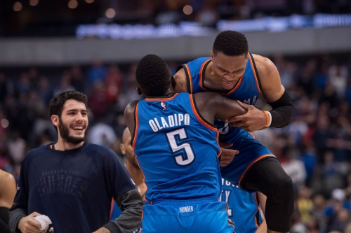 Oklahoma City Thunder news roundup: Westbrook welcomes baby boy Noah and playoff coverage