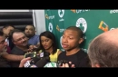 Isaiah Thomas, Boston Celtics star, after first All-NBA honor: 'I want to be so much better'