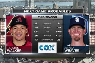 Padres vs D-Backs Preview: Weaver and and Walker take the mound in Game 1