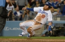 Justin Turner injured in Dodgers' victory over Miami Marlins