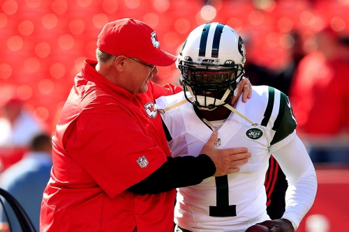 Michael Vick would love to coach with Chiefs coach Andy Reid one day
