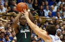 Michigan State now tied with Duke for best odds to win 2018 NCAA Tournament Championship