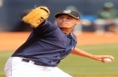 Brady Aiken finally gets first Lake County Captains win: Cleveland Indians Minor Leagues