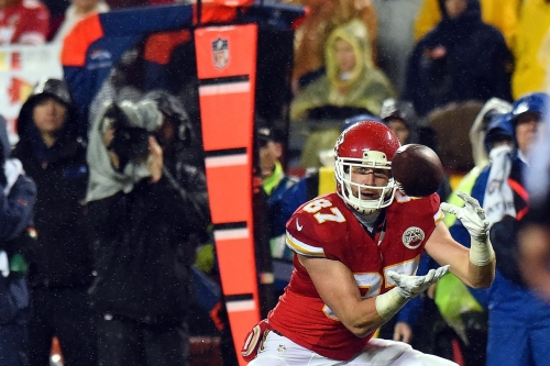 Alex Smith threw a lot of screens because the Chiefs did well with them