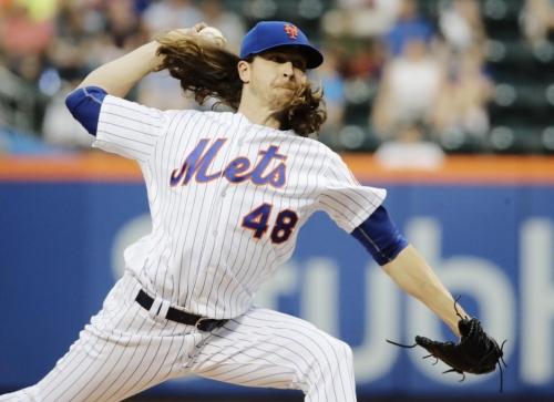 Jacob deGrom sparkles as Mets beat Angels to snap losing streak