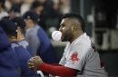 Pablo Sandoval, Boston Red Sox 3B, takes three at-bats as DH in his first rehab game for Pawtucket