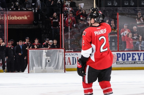 From the Branches: Sens haf phaneuf of the Penguins