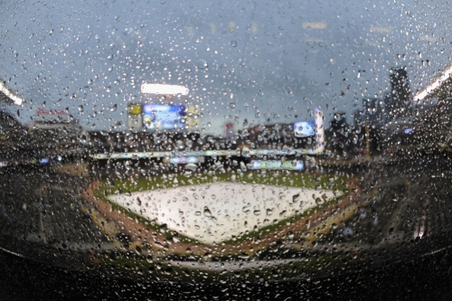 Royals at Twins game rained out