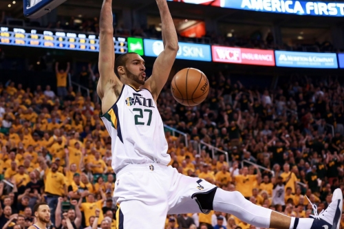 Rudy Gobert named as finalist for Defensive Player of the Year and Most Improved