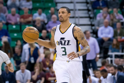 """Dennis Lindsey on George Hill: """"You're not going to get one poor thought, much less word, if he goes elsewhere."""""""