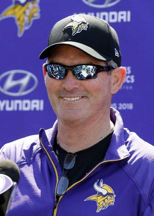 Vikings' Zimmer has another surgery on right eye The Associated Press