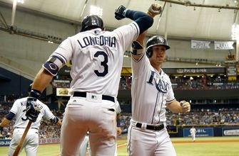 Corey Dickerson, Evan Longoria power red-hot Rays past Yankees