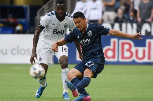 Sporting Kansas City's attack dulled on road in 2-0 loss
