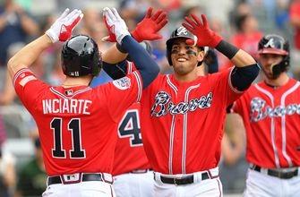Watch Braves rookie Rio Ruiz smash the first home run of his career off Max Scherzer