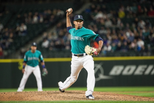 Edwin Diaz showing signs of returning to his closer role for the Mariners