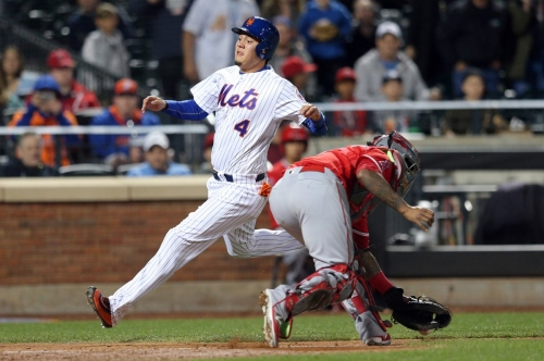 Mets avoid 9th-inning collapse and hold on to beat Angels, 7-5