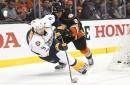 Whicker: Filip Forsberg continues to baffle Ducks in Predators' Game 5 win