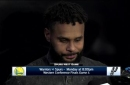 Patty Mills talks effort in Game 3 loss to Warriors