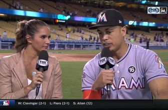 Giancarlo Stanton on victory: Everyone was focused on tonight