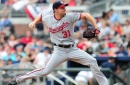 Max Scherzer struggles with fastball command in Nationals' 5-2 loss to Braves...