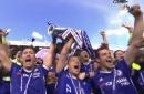 WATCH: Chelsea lift the Premier League trophy once again