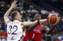 Will Nets as well as Knicks have players on Team Latvia?