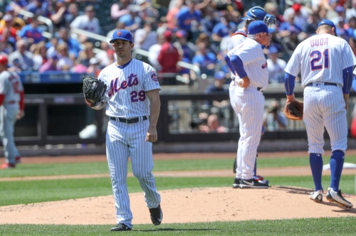 Tommy Milone implodes early as Mets drop series finale to Angels