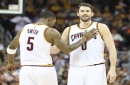 Boston's Jonas Jerebko tossed Kevin Love to the floor and then tried to tell him he flopped