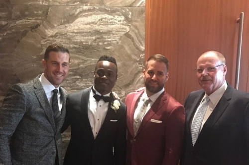 Jeremy Maclin's wedding brought Alex Smith, Chase Daniel and Big Red