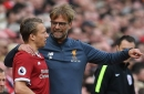 Why Liverpool's Lucas Leiva was feeling the love - but Dejan Lovren was not