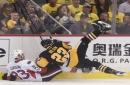Penguins' injured players miss optional practice, Patric Hornqvist skates beforehand